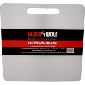BlackWolf 35L Hardside Cooler Spare Chopping Board White