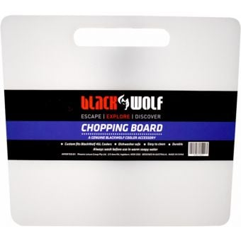 BlackWolf 45L Hardside Cooler Spare Chopping Board White