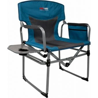 BlackWolf Compact Directors Chair Blue