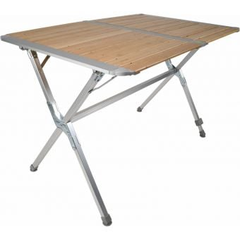 BlackWolf Folding Slatted Camping Table