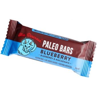 Blue Dinosaur Paleo Bar Blueberry 45g