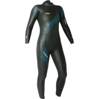 Blueseventy Fusion Womens Wetsuit Athena Black/Blue