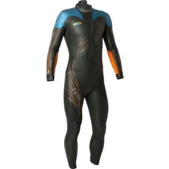 Blueseventy Helix Wetsuit Tall Black/Blue/Orange