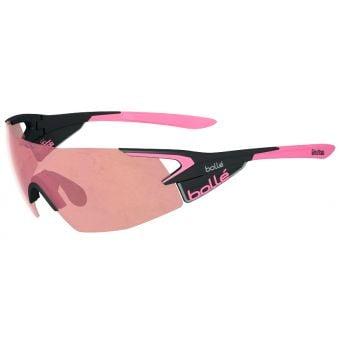 Bolle 5th Element Pro Sunglasses Giro Black Pink w/Mod Rose Lens