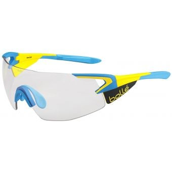 Bolle 5th Element Pro Sunglasses Matte Yellow/Blue w/Mod Clear Grey Lens