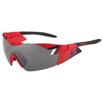 Bolle 6th Sense Sunglasses Matte Red Black w/TNS Gun Lens