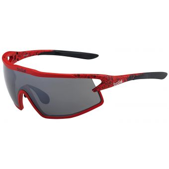 Bolle B-Rock Sunglasses Matte Red/Black w/TNS Gun Lens