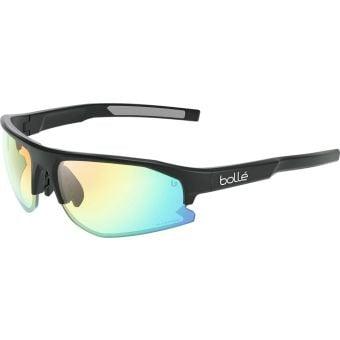 Bolle Bolt 2.0 Sunglasses Black Matte (Phantom Clear Green Photochromic Lens)