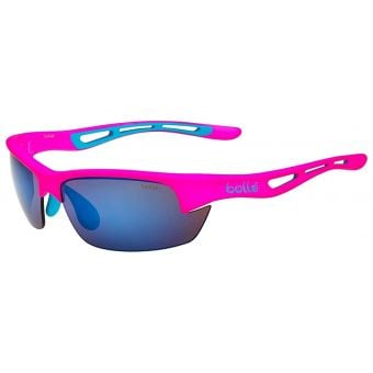 Bolle Bolt S Sunglasses Matte Pink w/Brown Blue Lens