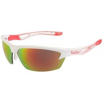 Bolle Bolt Sunglasses Matte White/Orange w/TNS Fire Lens