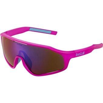 Bolle Shifter Sunglasses Pink Matte (Brown Blue Lens)