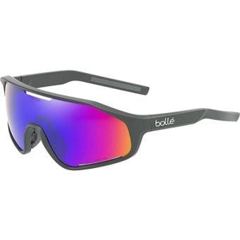 Bolle Shifter Sunglasses Titanium Matte (Volt+ Ultraviolet Polarised Lens)