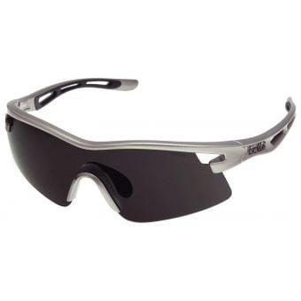 Bolle Vortex Sunglasses TT Silver w/Smoke Lens