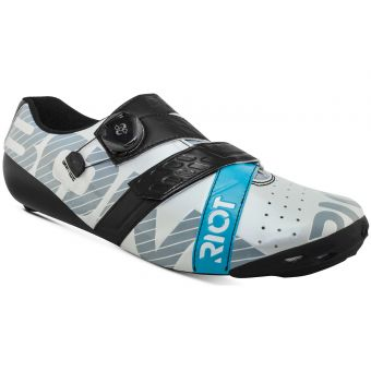 Bont Riot+ BOA Road Shoes Pearl White/Black