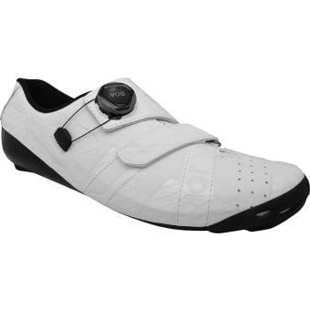 Bont Riot+ Road Shoe White/Gloss White Size