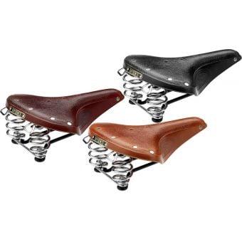 Brooks B67 Classic Chrome Rail Leather Saddle