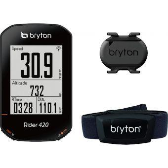 Bryton Rider 420 GPS Bike Computer Sensor Bundle Kit