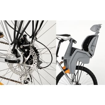 Beto Bicycle Rear Baby Seat Deluxe With Rack Disc Brake