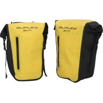 Burley Cargo Trailer Waterproof Pannier Set Yellow/Black