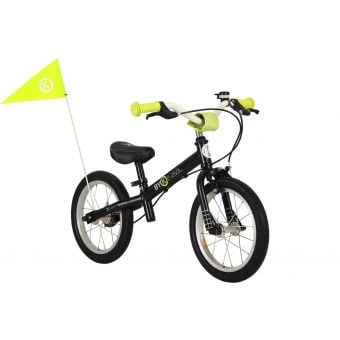 ByK E-250L Balance Bike Black/Neon Yellow