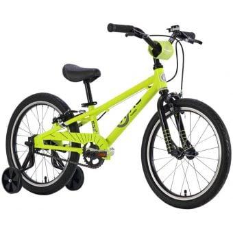 ByK E-350 Boys Bike Black/Neon Yellow