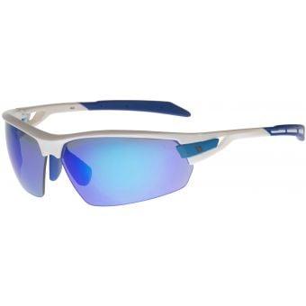 BZ Optics Pho Glasses White/Blue Mirror
