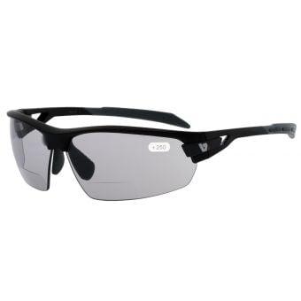 BZ Optics Pho Photochromic Bifocal +2.50 Glasses Black