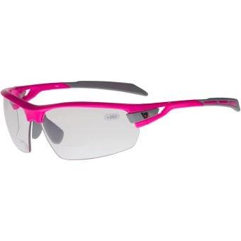 BZ Optics Pho Photochromic Bifocal +2.50 Glasses Pink
