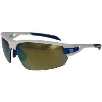 BZ Optics Pho Sunglasses White Gold/Blue Frame (Yellow Mirror Lens)