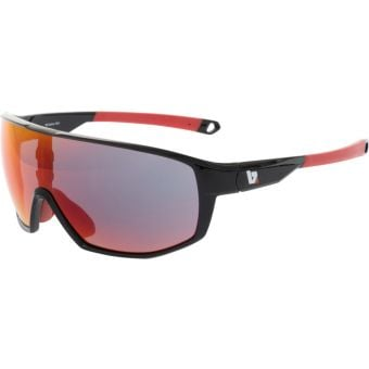BZ Optics RST Black Sunglasses Red Mirror Lens