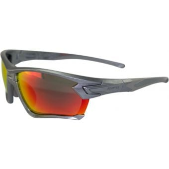 BZ Optics Tour Sunglasses Graphite (Red Mirror Lens)