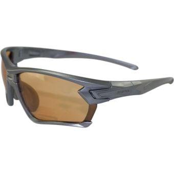 BZ Optics Tour Sunglasses Matte Graphite (Photochromic HD +2.50 Lens)
