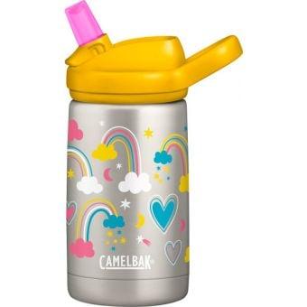 CamelBak Eddy Kids 350mL Stainless Vacuum Insulated Bottle Rainbow Love