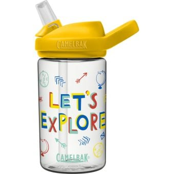 Camelbak Eddy+ Kids 400ml Tritan Renew Bottle Let's Explore