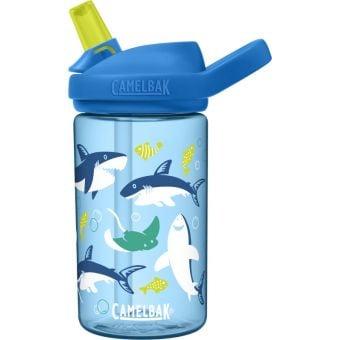 Camelbak Eddy+ Kids 400ml Tritan Renew Bottle Sharks and Rays