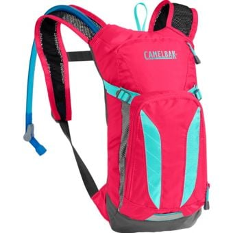 CamelBak Mini M.U.L.E 1.5L Hydration Pack 2017 Pink/Light Blue