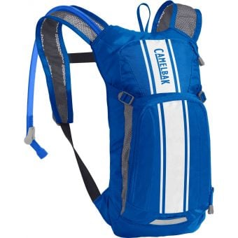 CamelBak Mini M.U.L.E 1.5L Hydration Pack Lapis Blue/White