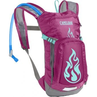 CamelBak Mini M.U.L.E 1.5L Hydration Pack Rouge/Flames
