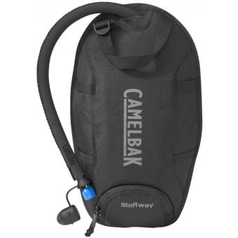 CamelBak StoAway 2L Insulated Hydration Bladder PiggyBack Pack Black