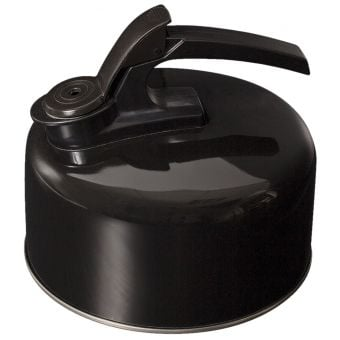 Campfire 2L Stainless Steel Whistling Kettle Black