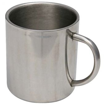 Campfire Double Wall Stainless Steel Mug