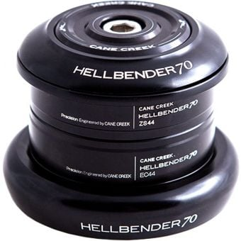 Cane Creek Hellbender 70 ZS44 28.6mm/EC44 40mm Complete Headset Black