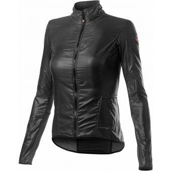 Castelli Aria Shell Womens Jacket Dark Grey 2021