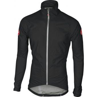 Castelli Emergency Rain Jacket Black 2020