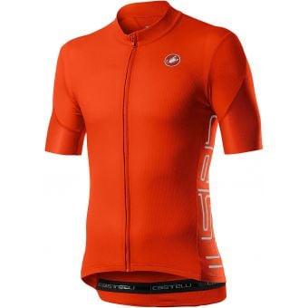 Castelli Entrata V Mens Jersey Fiery Red 2021