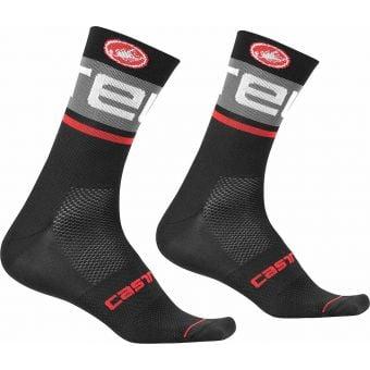 Castelli Free Kit 13 Socks Black/Dark Grey 2020