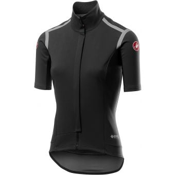 Castelli Gabba ROS Womens All Conditions Jersey Light Black 2021