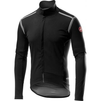 Castelli Perfetto Ros Convertible Jacket Light Black 2020