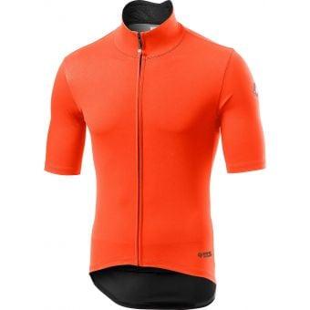 Castelli Perfetto Ros Light Jacket Orange 2020