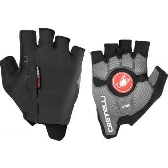Castelli Rosso Corsa Espresso Gloves Black 2020